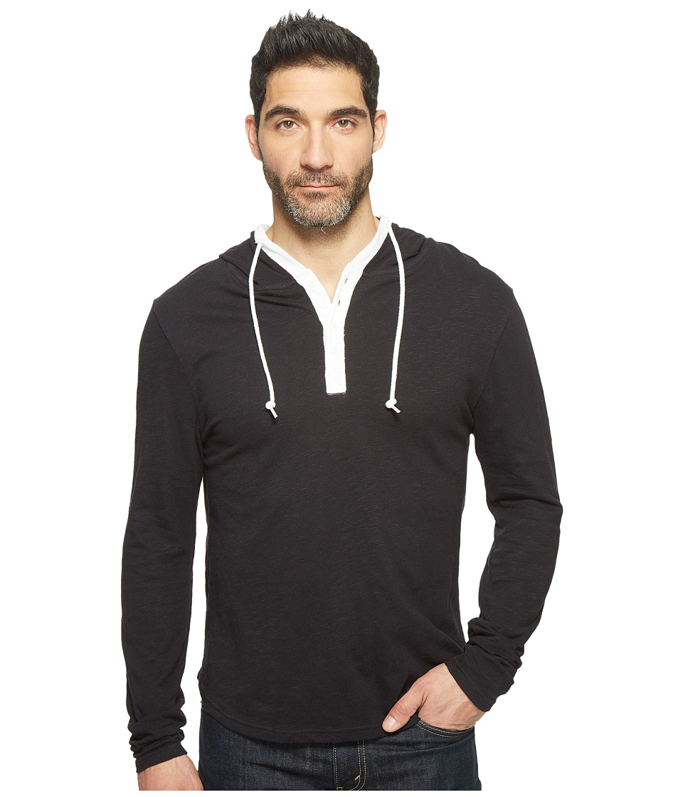 Threads 4 Thought - Boardwalk Pullover Hoodie (Black) Men's Sweatshirt