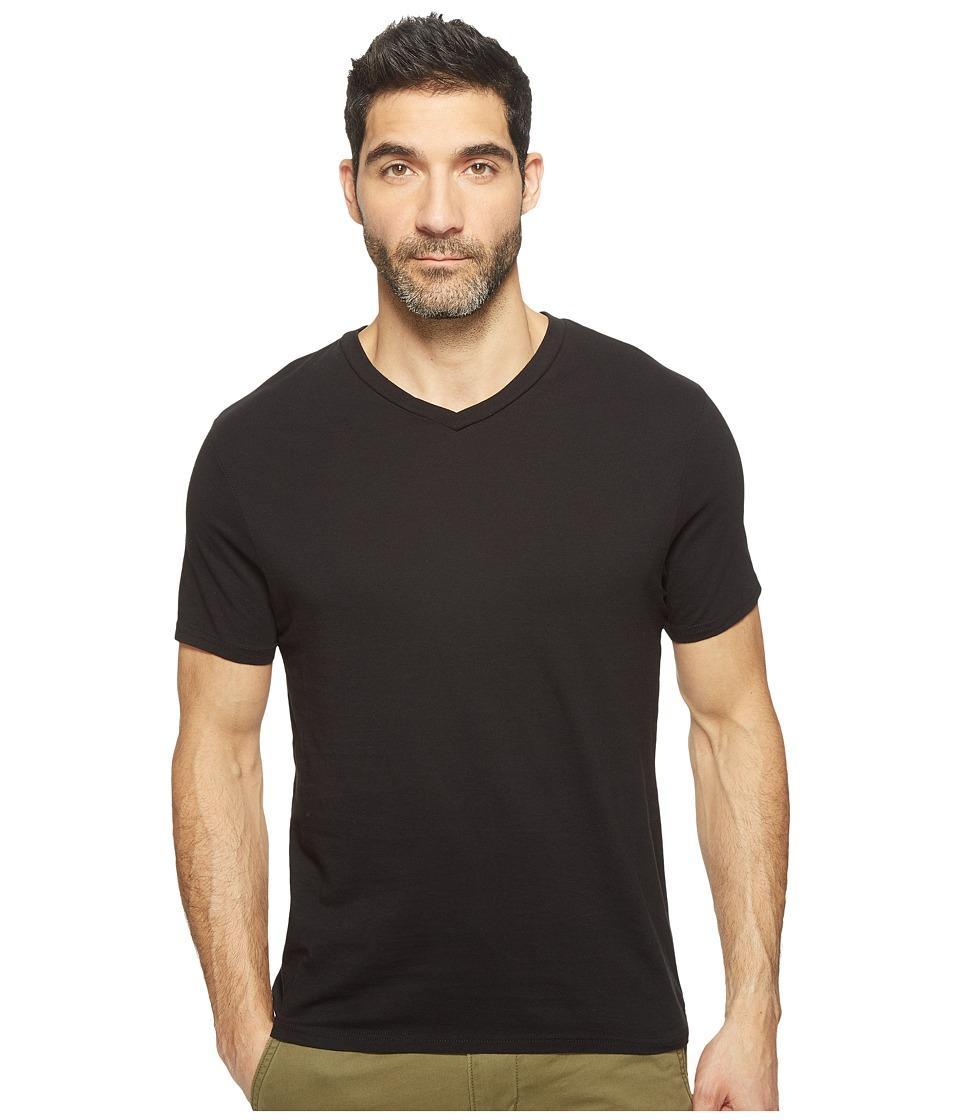 Threads 4 Thought - Standard V-Neck Tee (Black) Men's T Shirt