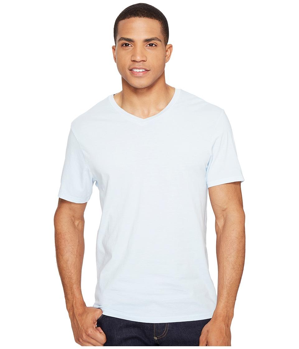 Threads 4 Thought - Standard V-Neck Tee (Ballad Blue) Men's T Shirt