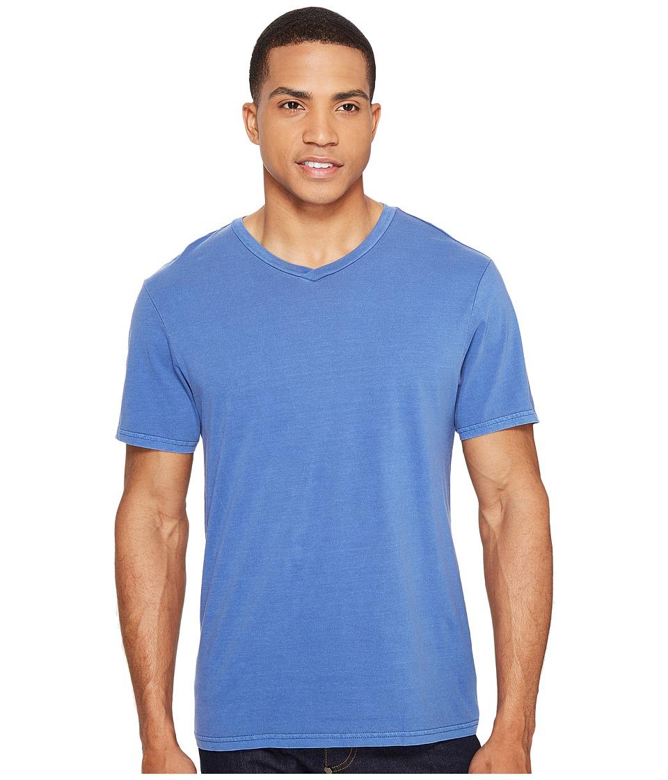 Threads 4 Thought - Standard V-Neck Tee (Deep Navy) Men's T Shirt