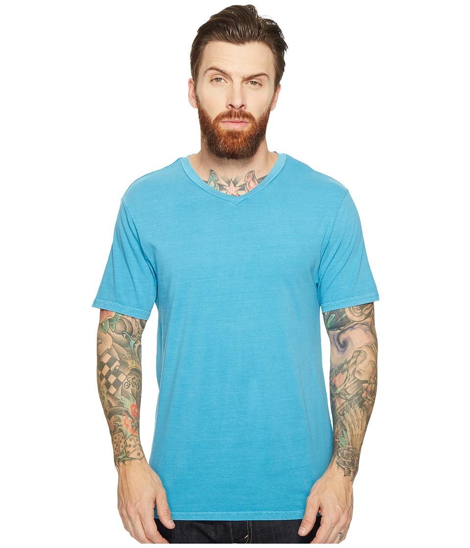Threads 4 Thought - Standard V-Neck Tee (Aqua) Men's T Shirt