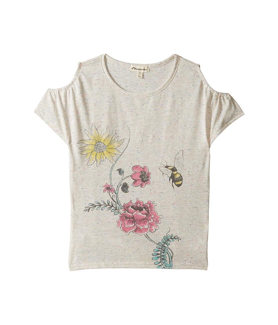 Appaman Kids - Kyra Tee (Toddler/Little Kids/Big Kids) (Speckled White) Girl's T Shirt