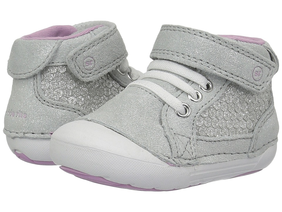 Stride Rite Soft Motion Jada (Infant/Toddler) (Silver Metallic) Girls Shoes