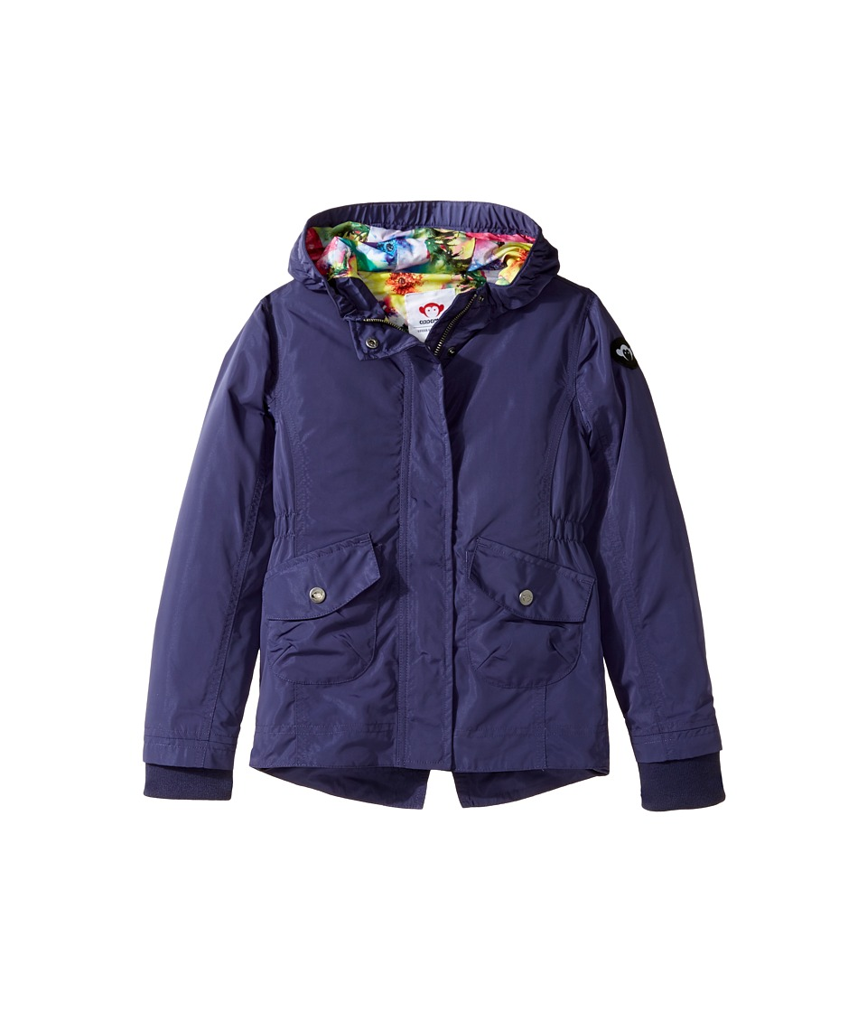 Appaman Kids - Lanai Windbreaker (Toddler/Little Kids/Big Kids) (Deep Wisteria) Girl's Coat
