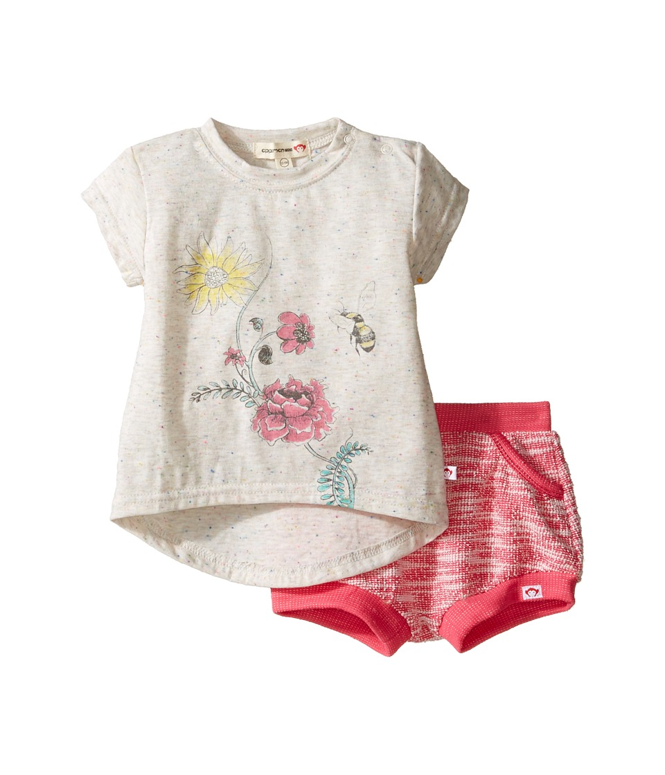 Appaman Kids - Tee and Bubble Shorts Set (Infant) (French Hydrangea) Girl's Active Sets