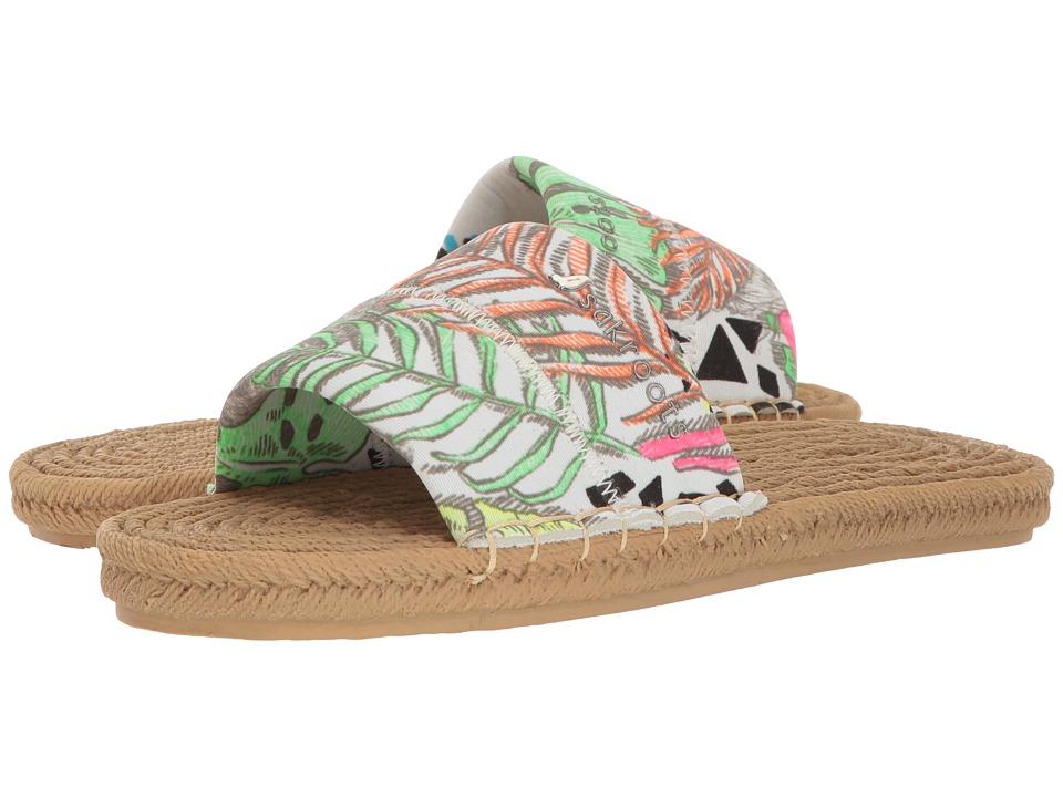 Sakroots - Emi (Neon Wild Life) Women's Sandals