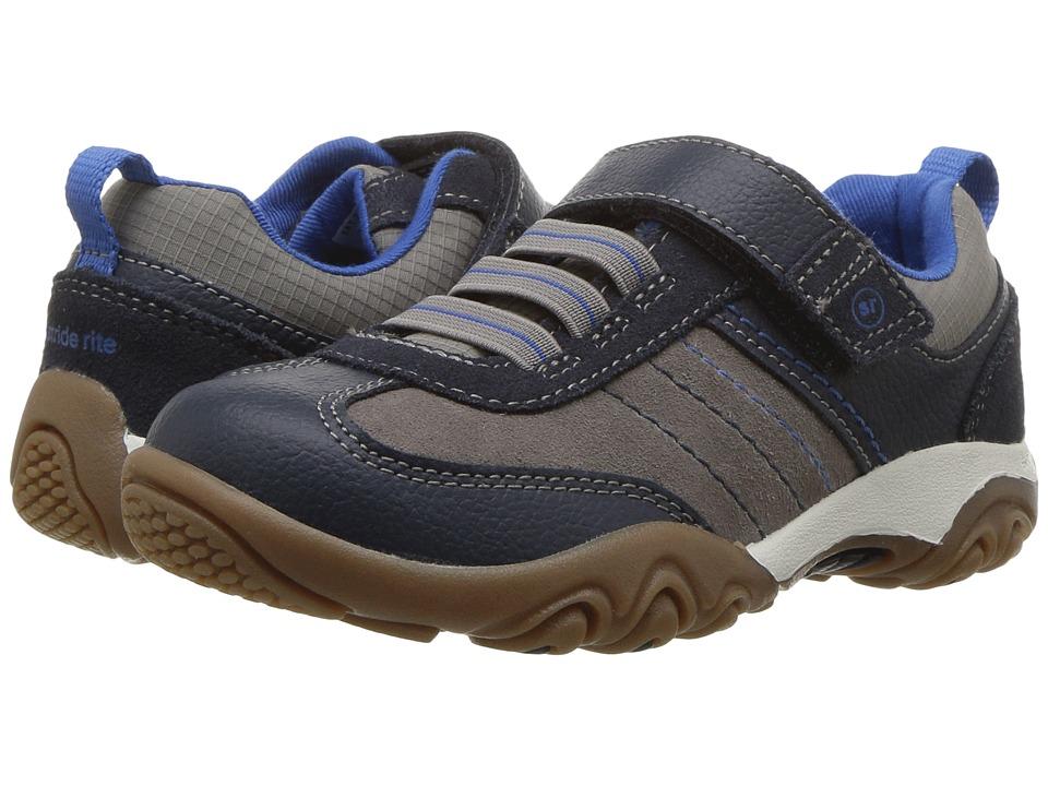 Stride Rite - SRT PS Prescott (Toddler/Little Kid) (Navy/Stone) Boy's Shoes