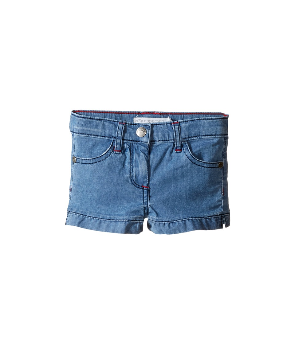 Appaman Kids - Elba Shorts (Toddler/Little Kids/Big Kids) (Medium Blue Chambray) Girl's Shorts