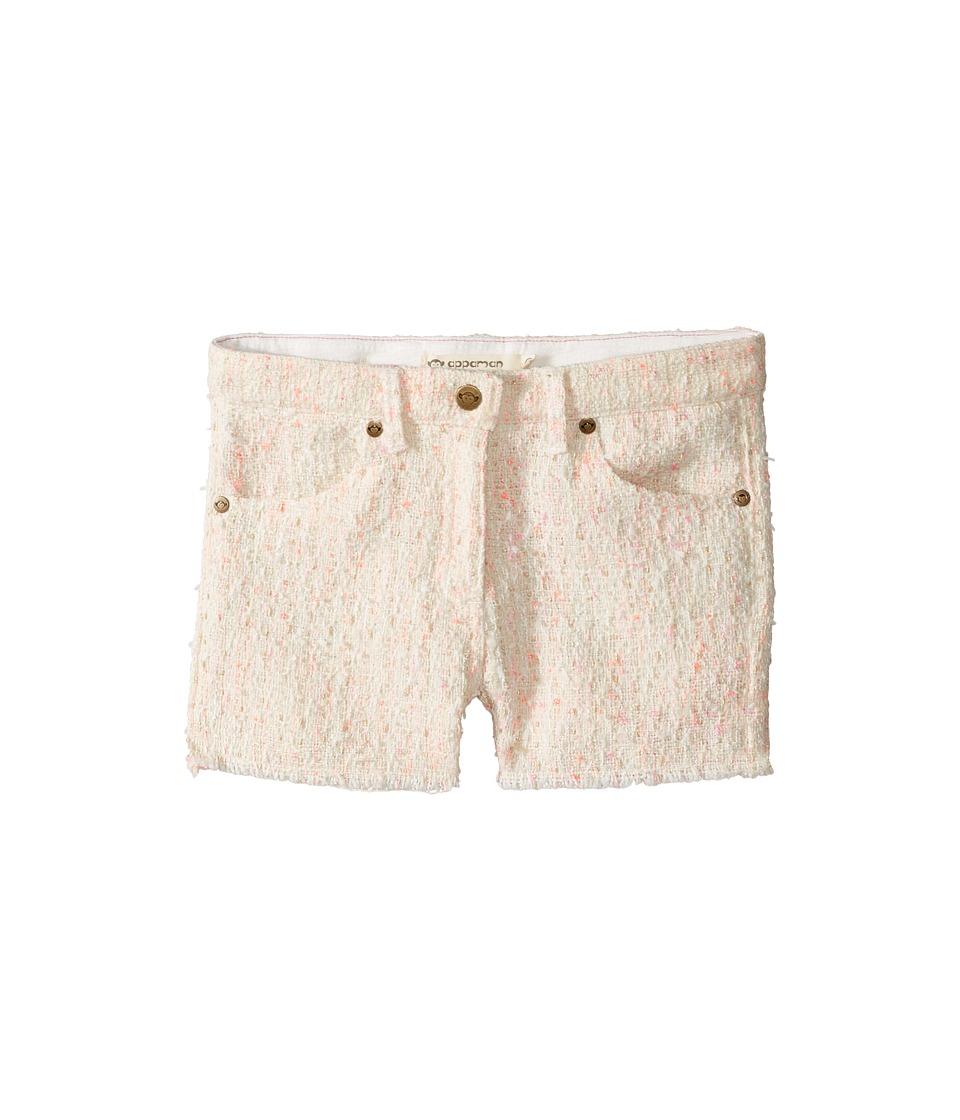 Image of Appaman Kids - Andros Shorts (Toddler/Little Kids/Big Kids) (Neon Tweed) Girl's Shorts