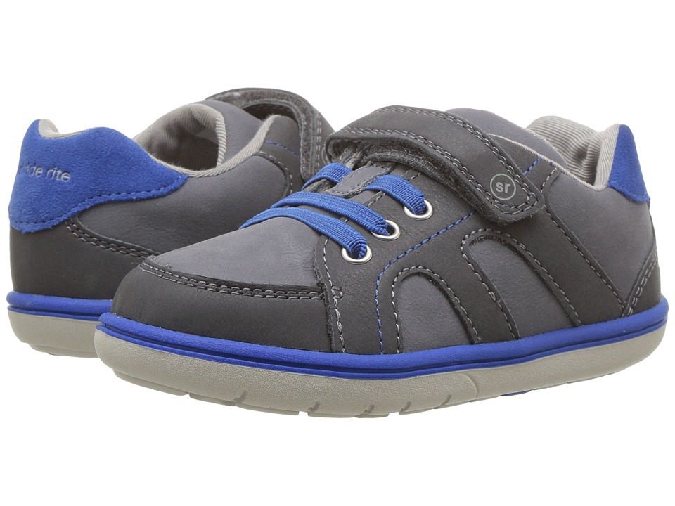 Stride Rite SRTech Noe (Toddler/Little Kid) (Grey/Blue) Boys Shoes