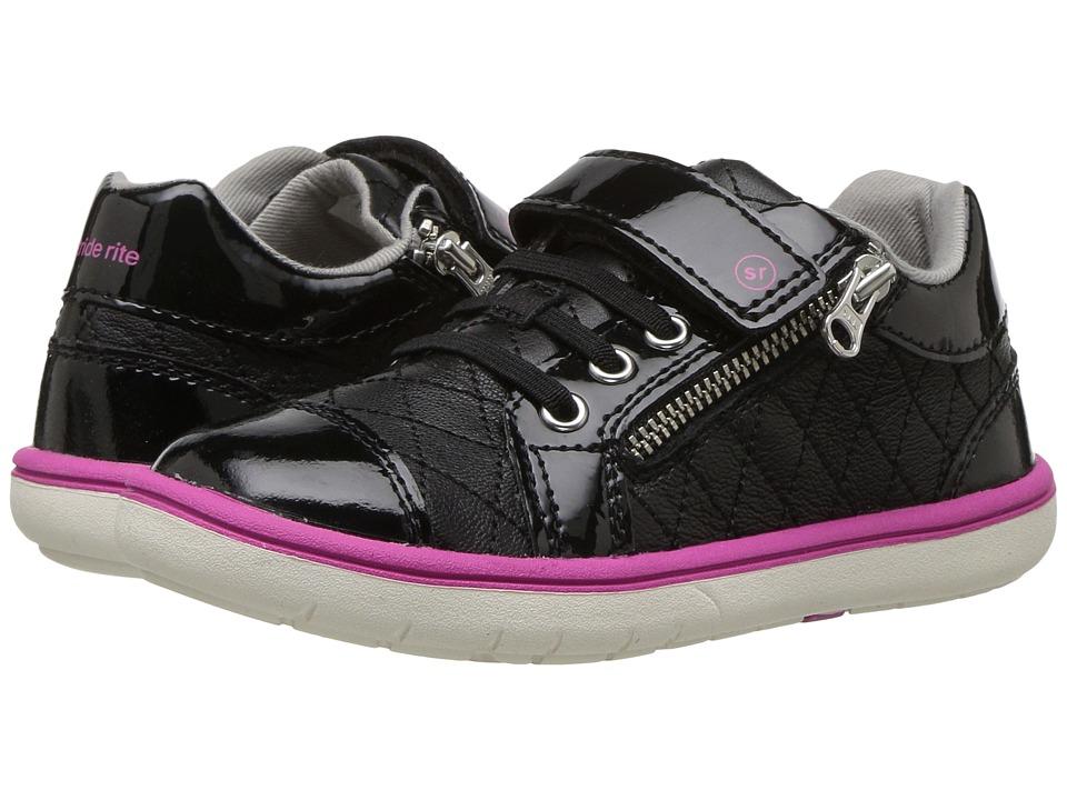 Stride Rite SRTech Olivia (Toddler/Little Kid) (Black) Girls Shoes