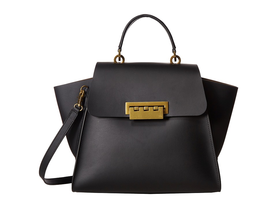 ZAC Zac Posen - Eartha Top-Handle (Black) Top-handle Handbags