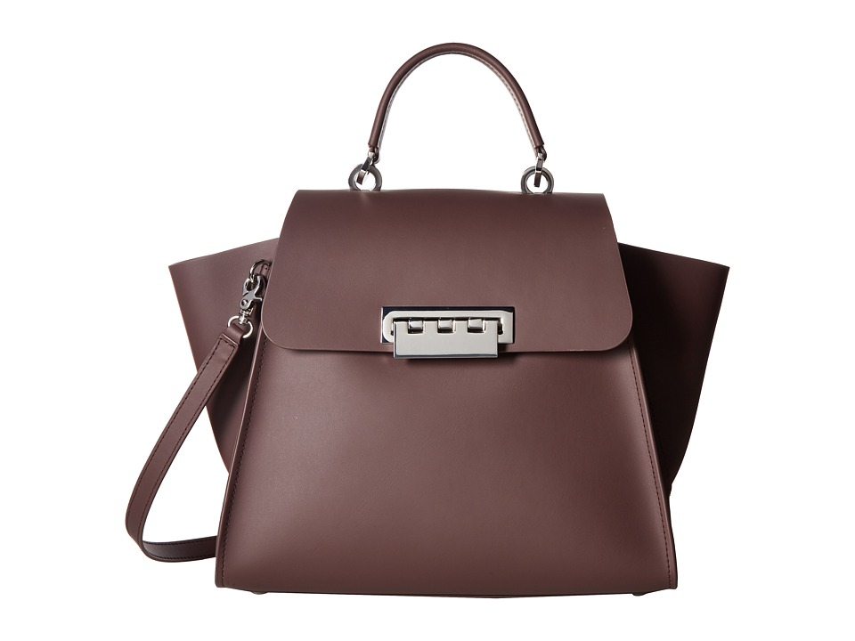 ZAC Zac Posen - Eartha Top-Handle (Purple) Top-handle Handbags