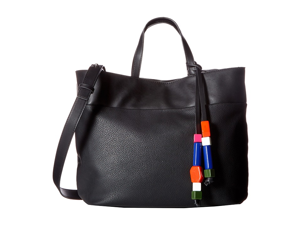 French Connection - Ace Tote (Black) Tote Handbags