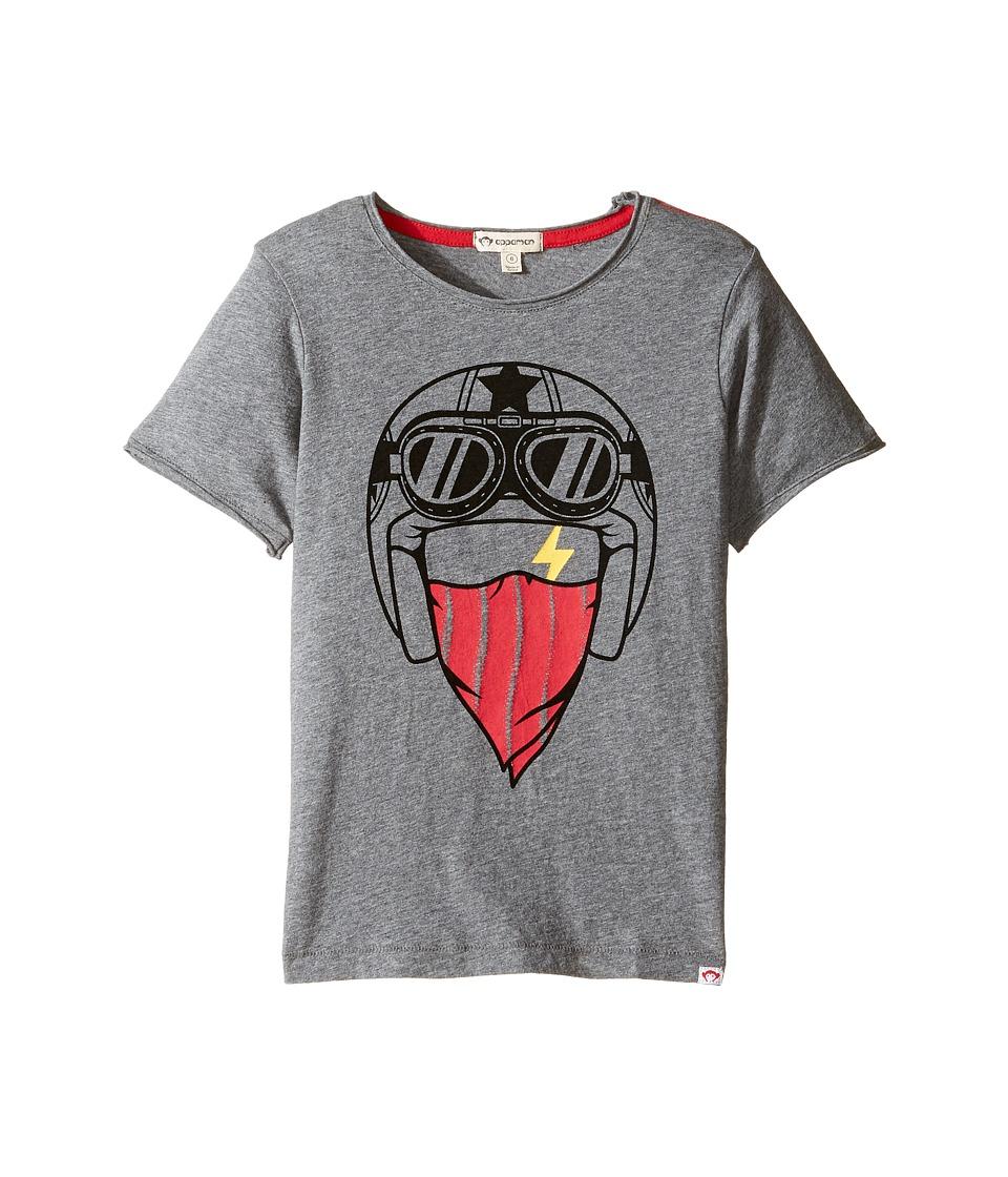 Appaman Kids - Super Soft Street Racer Graphic Tee (Toddler/Little Kids/Big Kids) (Light Grey Heather) Boy's T Shirt