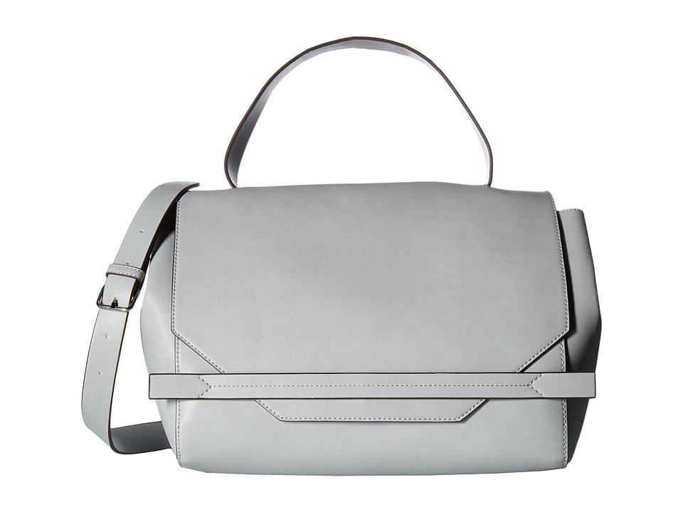 French Connection - Cynthia Satchel (Mineral Grey) Satchel Handbags