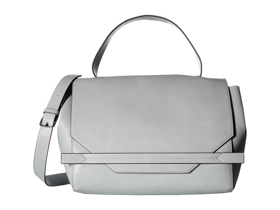 French Connection - Cynthia Satchel (Mineral Grey) Satchel Handbags