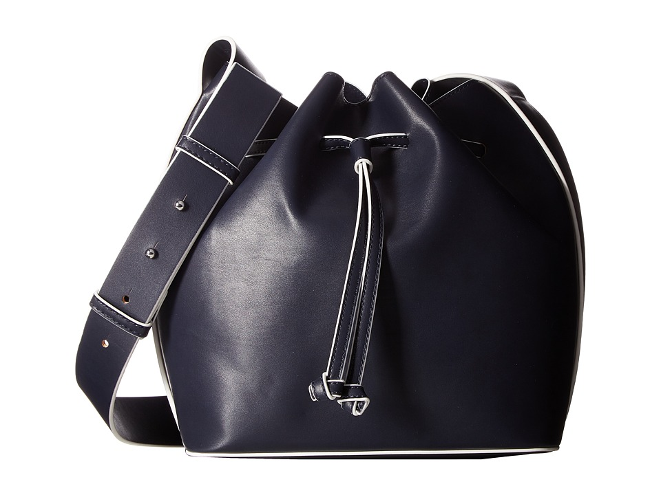 French Connection - Chelsea Drawstring (Utility Blue) Drawstring Handbags