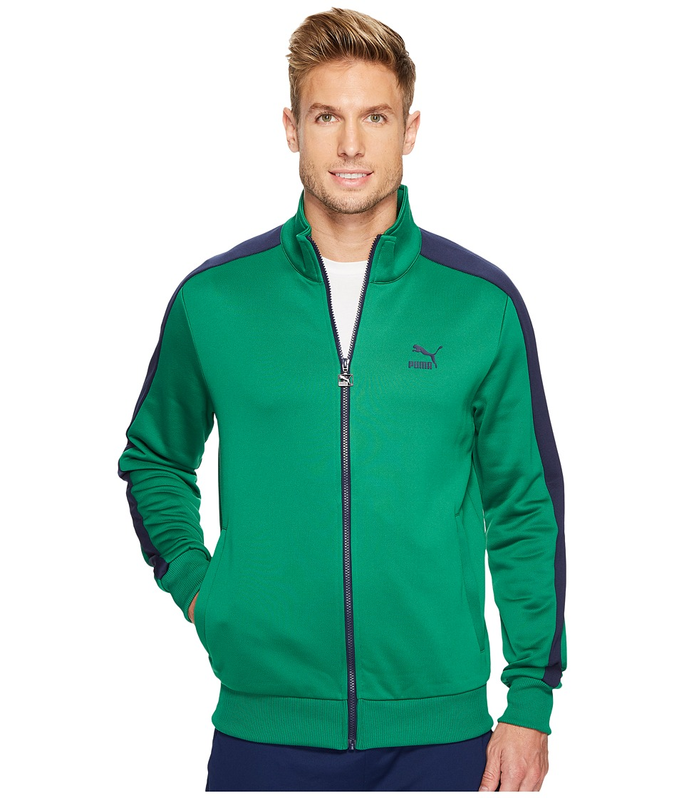 PUMA - Archive T7 Track Jacket (Verdant Green) Men's Jacket