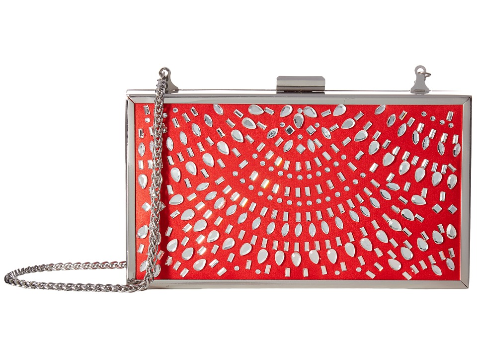 Adrianna Papell - Victoria (Red/Silver) Handbags