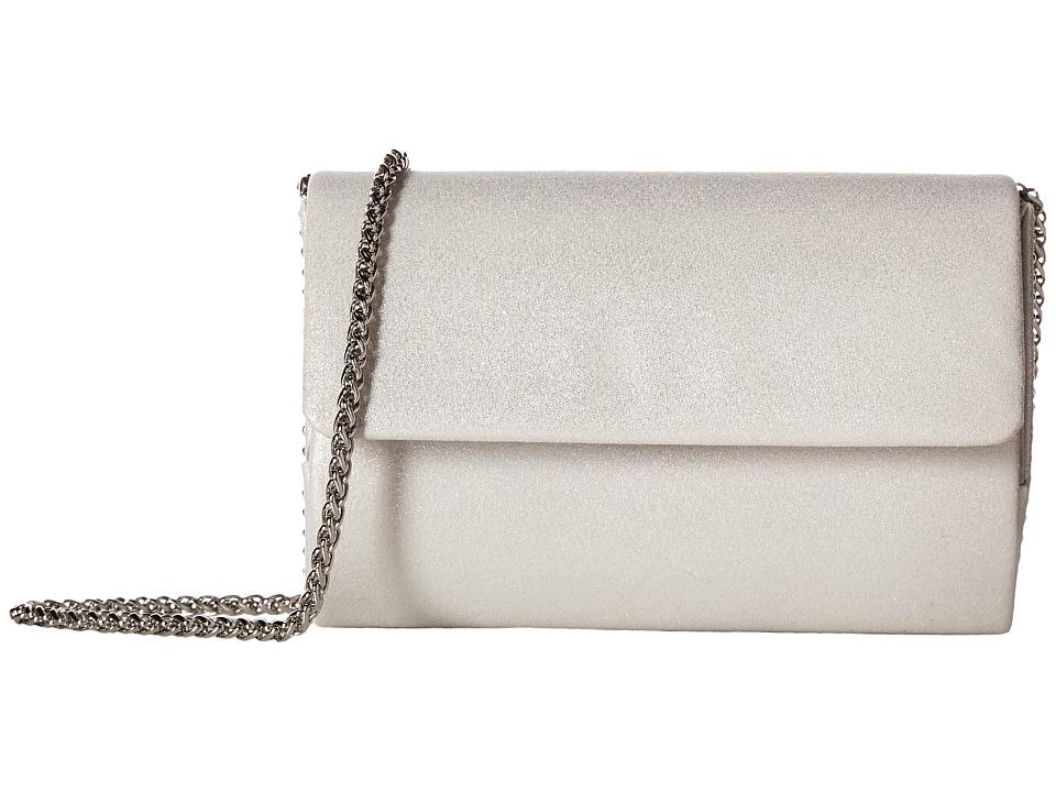 Adrianna Papell - Siri (Silver/Silver) Handbags