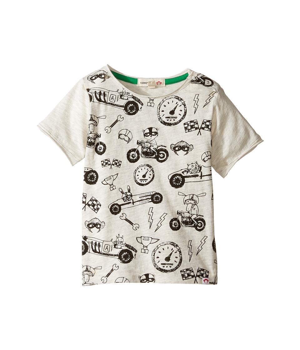 Appaman Kids - Super Soft Ready, Set, Go! Graphic Tee (Infant/Toddler/Little Kids/Big Kids) (Cloud Heather) Boy's T Shirt