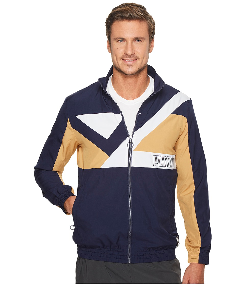 PUMA - Record Track Jacket (Peacoat) Men's Jacket