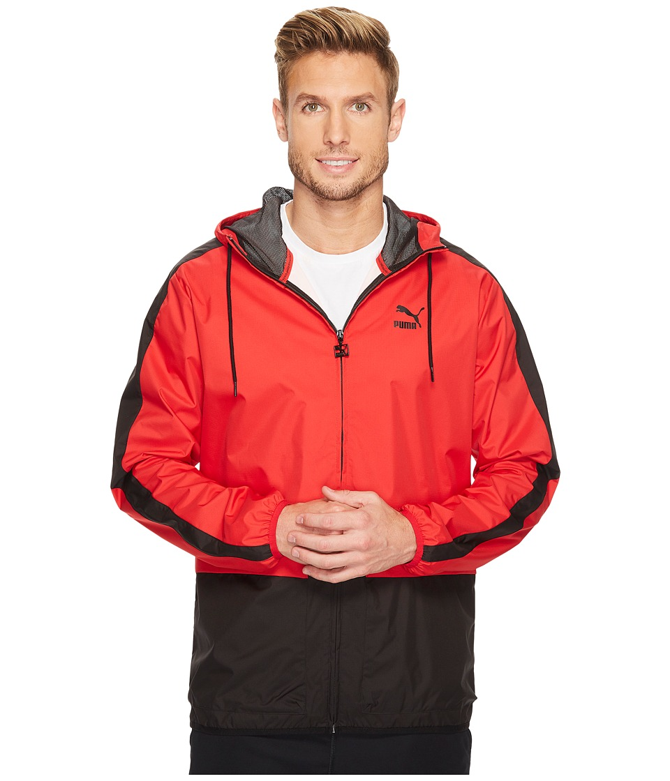 PUMA - Archive Logo Windbreaker (Toreador) Men's Jacket