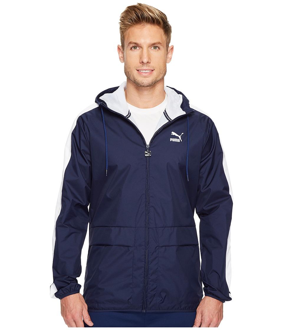 PUMA - Archive Logo Windbreaker (Peacoat) Men's Jacket