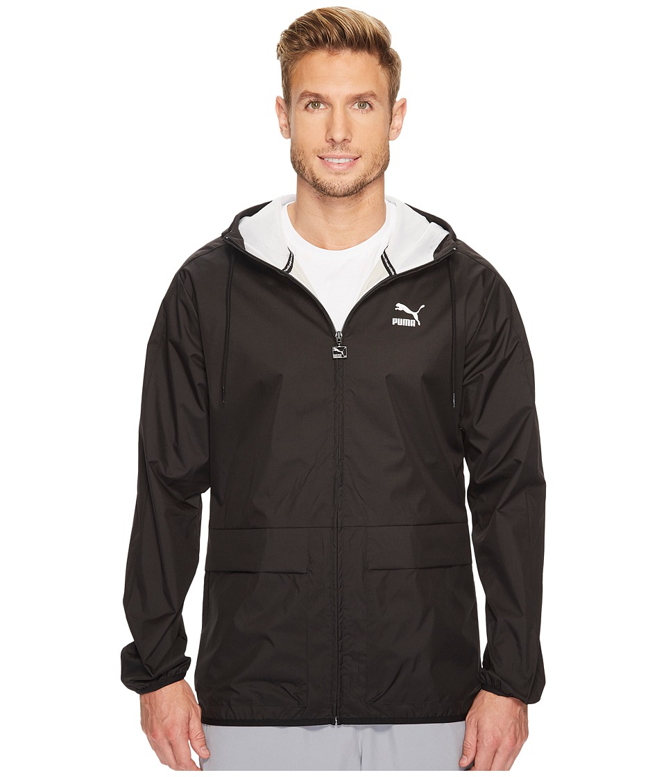 PUMA - Archive Logo Windbreaker (PUMA Black) Men's Jacket