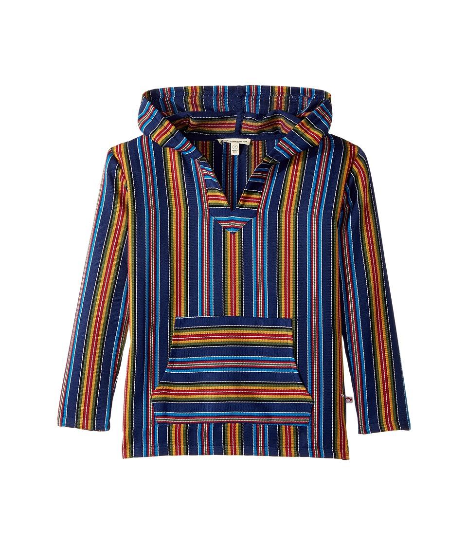 Image of Appaman Kids - Baja Pullover (Toddler/Little Kids/Big Kids) (Cobalt Multi Stripe) Boy's Long Sleeve Pullover