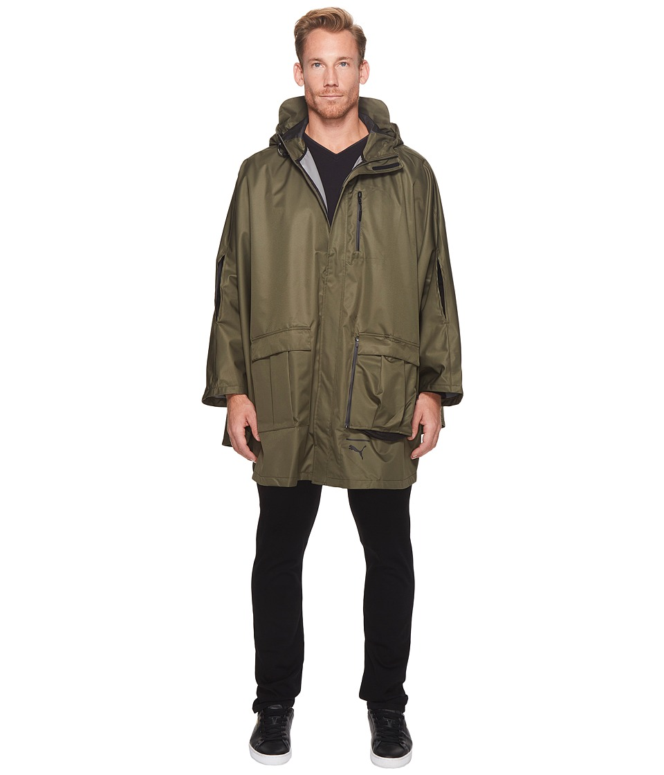 PUMA - Evo Lab Packable Cape (Olive Night) Men's Clothing