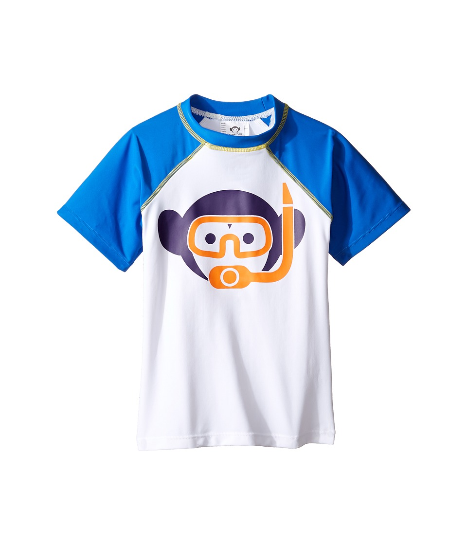 Appaman Kids - Rashguard (Toddler/Little Kids/Big Kids) (Olympian Blue) Boy's Swimwear