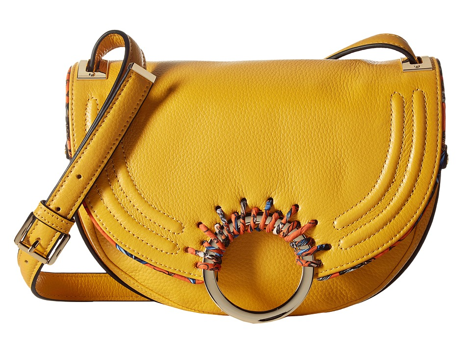 Sam Edelman - Rio Half Moon Saddle Bag (Sunset Yellow) Handbags
