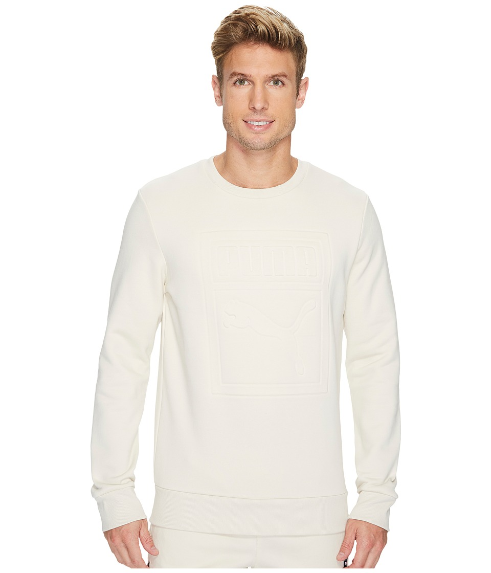 PUMA - Archive Embossed Logo Crew (Birch) Men's Clothing