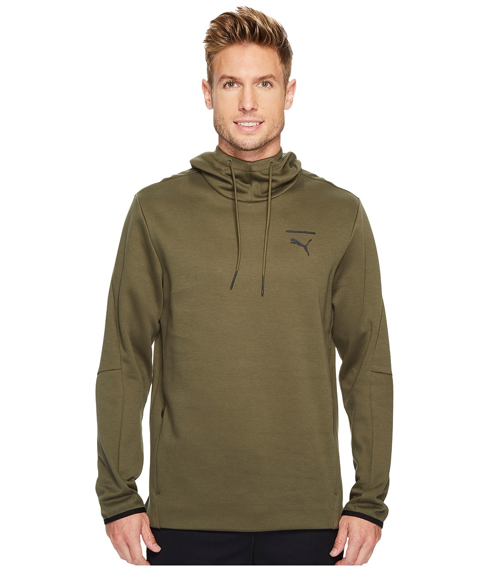 PUMA - Evo Core Hoodie (Olive Night) Men's Sweatshirt
