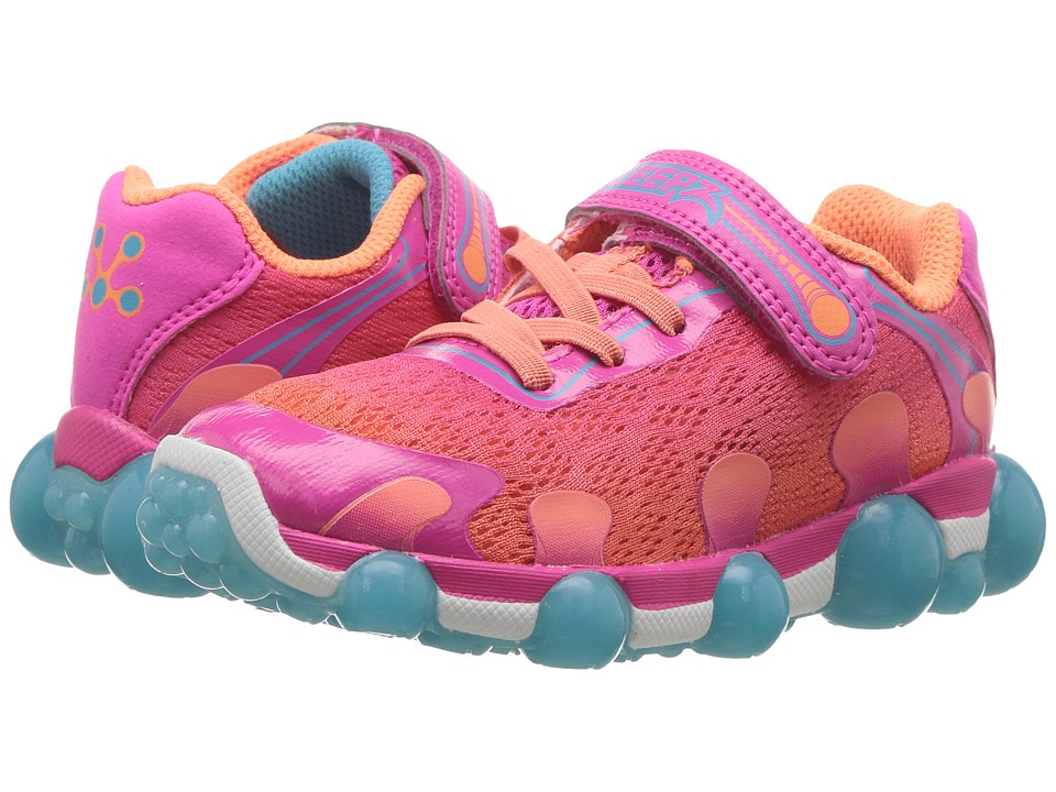 Stride Rite Leepz 2.0 (Toddler/Little Kid) (Coral) Girls Shoes