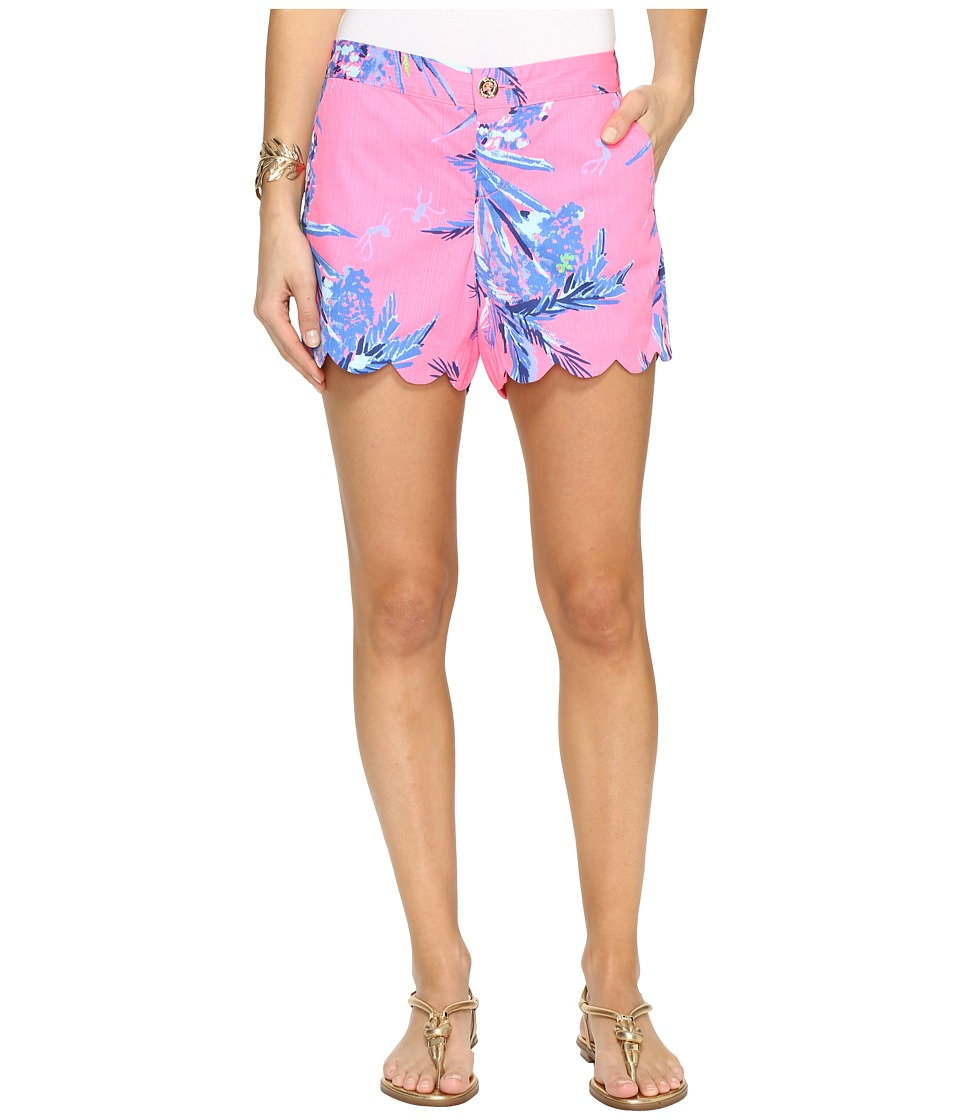 Lilly Pulitzer - Buttercup Shorts (Tiki Pink Out on A Limb) Women's Shorts