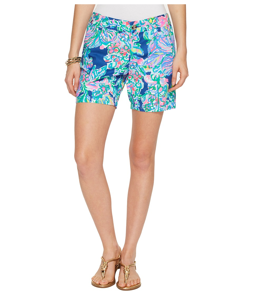Lilly Pulitzer - Jayne Shorts (Indigo Exotic Escapade) Women's Shorts