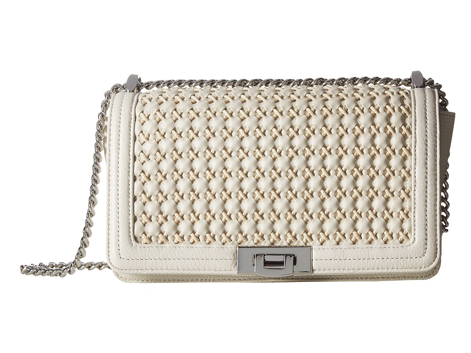Sam Edelman - Helen Shoulder (Modern Ivory Woven) Shoulder Handbags