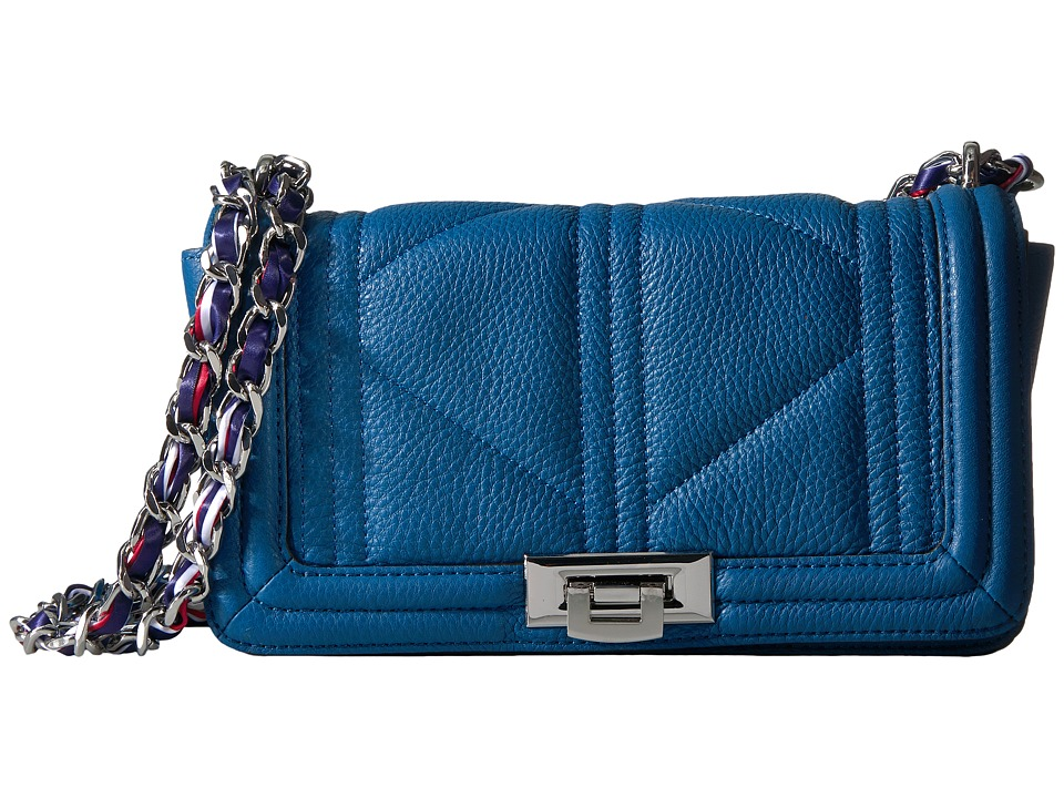 Sam Edelman - Mira Shoulder Flap (Nautical Blue) Shoulder Handbags