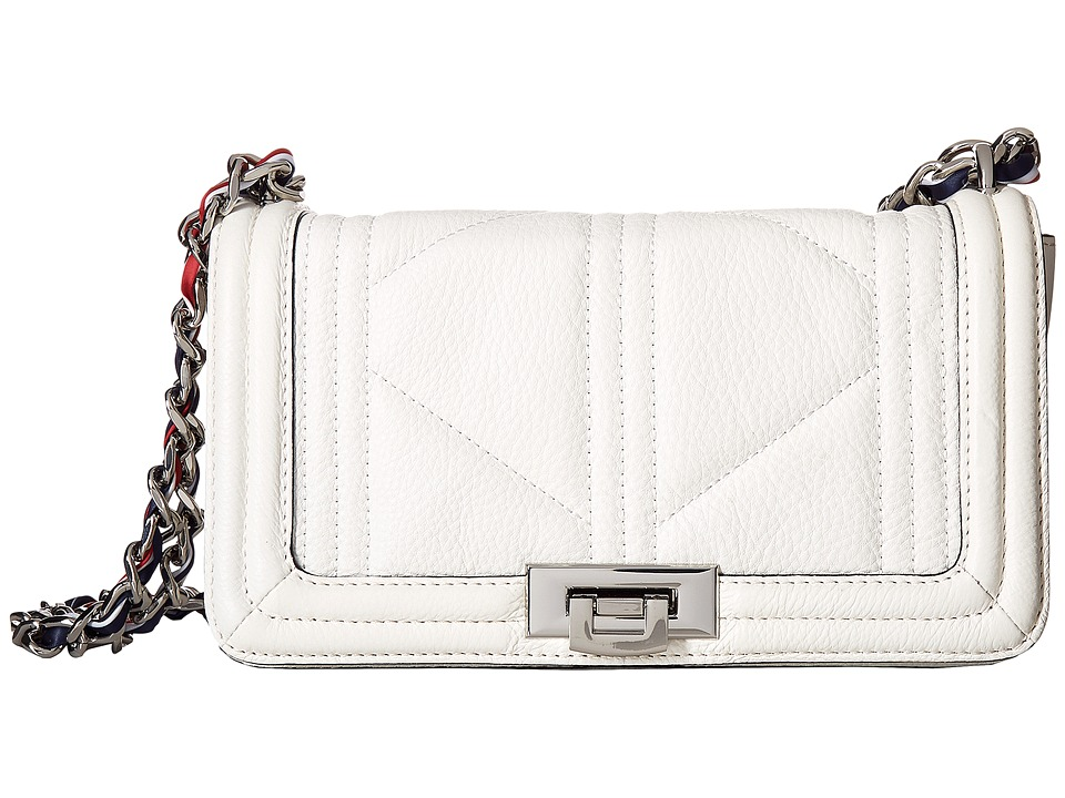 Sam Edelman - Mira Shoulder Flap (Bright White) Shoulder Handbags