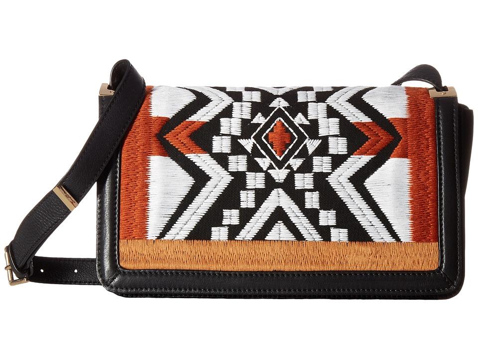 Sam Edelman - Zuri Flap Shoulder (Black) Shoulder Handbags