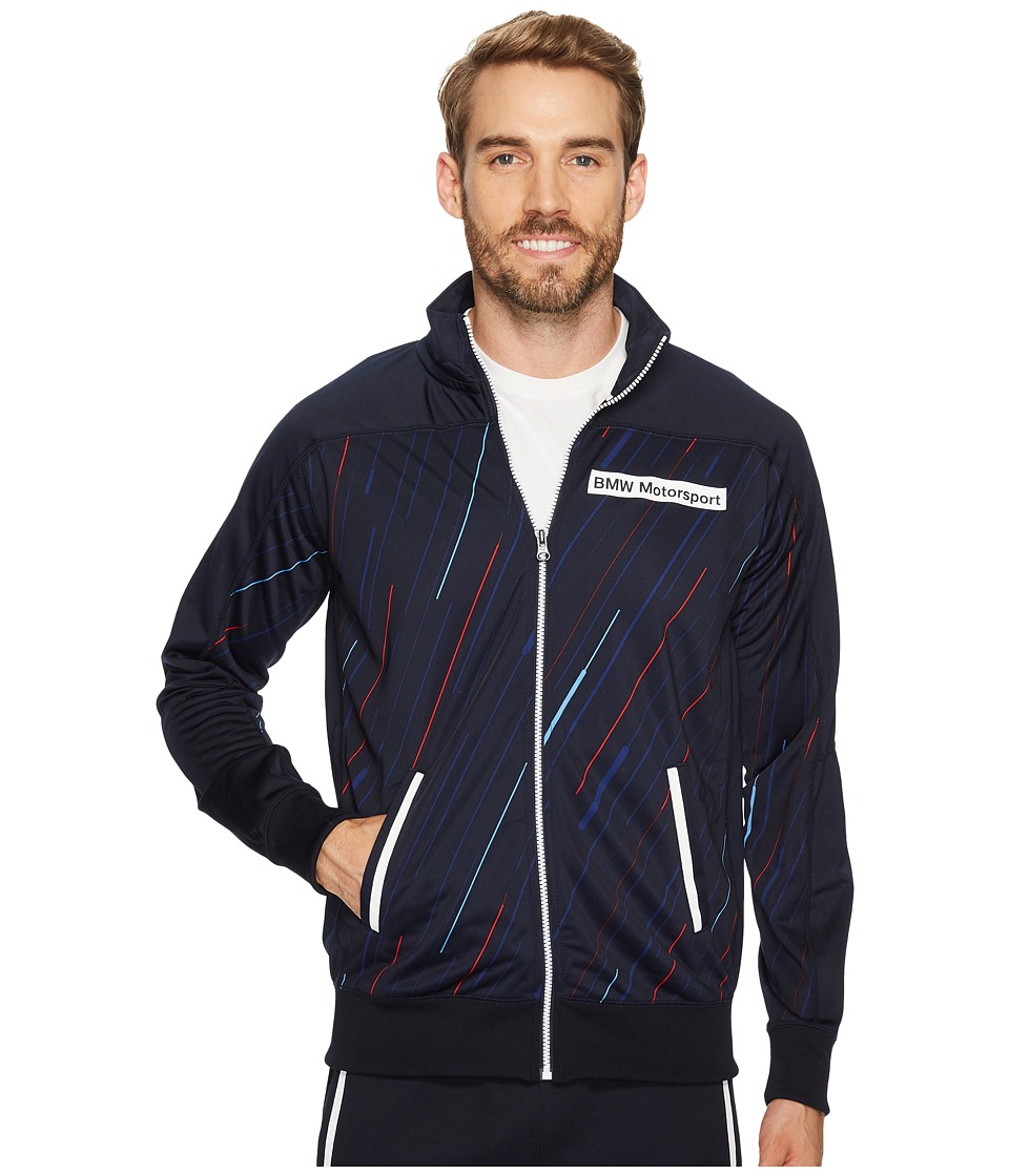 PUMA - BMW Motorsport Track Jacket (Team Blue) Men's Jacket