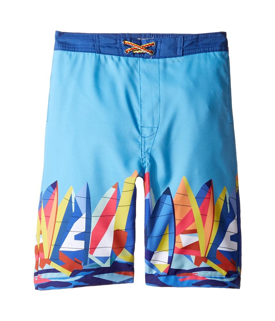 Appaman Kids - Swim Trunks (Toddler/Little Kids/Big Kids) (Blue) Boy's Swimwear