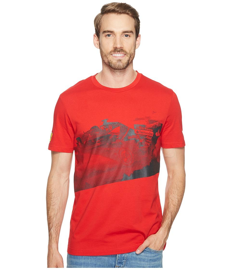 PUMA - SF Transform Graphic Tee (Rosso Corsa) Men's T Shirt