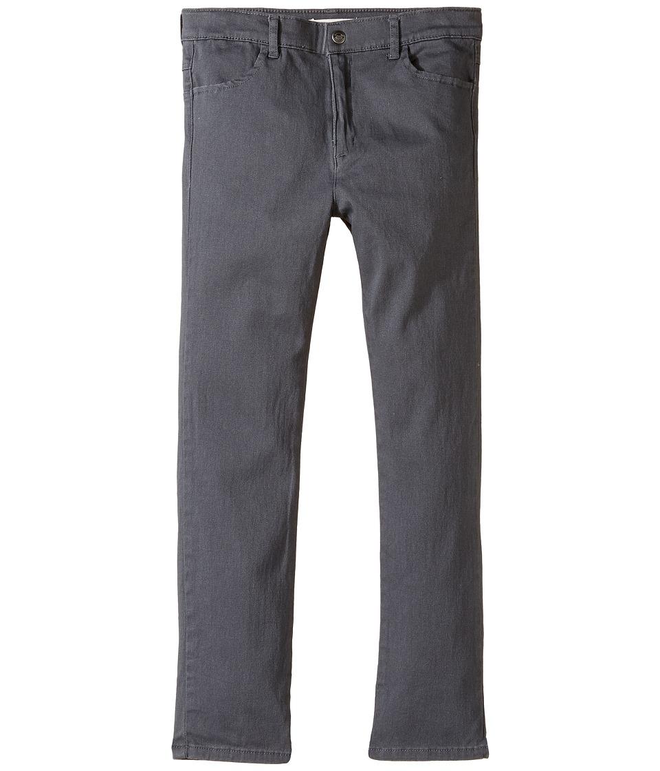 Appaman Kids - Skinny Twill Pants (Toddler/Little Kids/Big Kids) (Vintage Black) Boy's Casual Pants