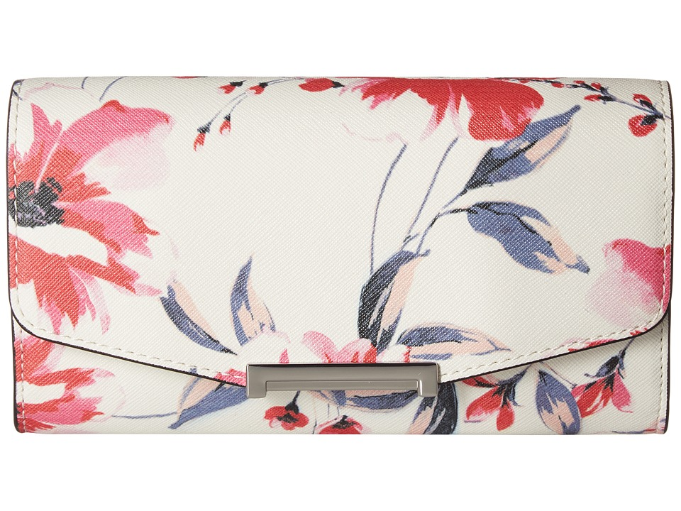 Ivanka Trump - Mara Crossbody Wallet (Floral Print) Cross Body Handbags
