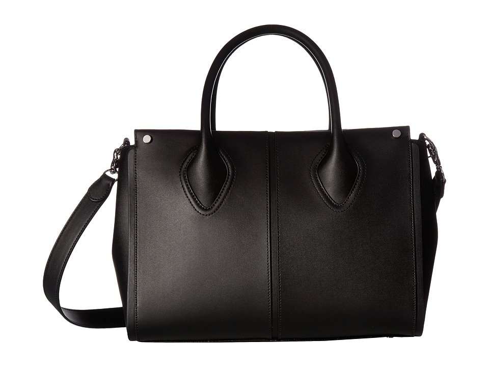 Ivanka Trump - Greenwich Satchel (Black) Satchel Handbags