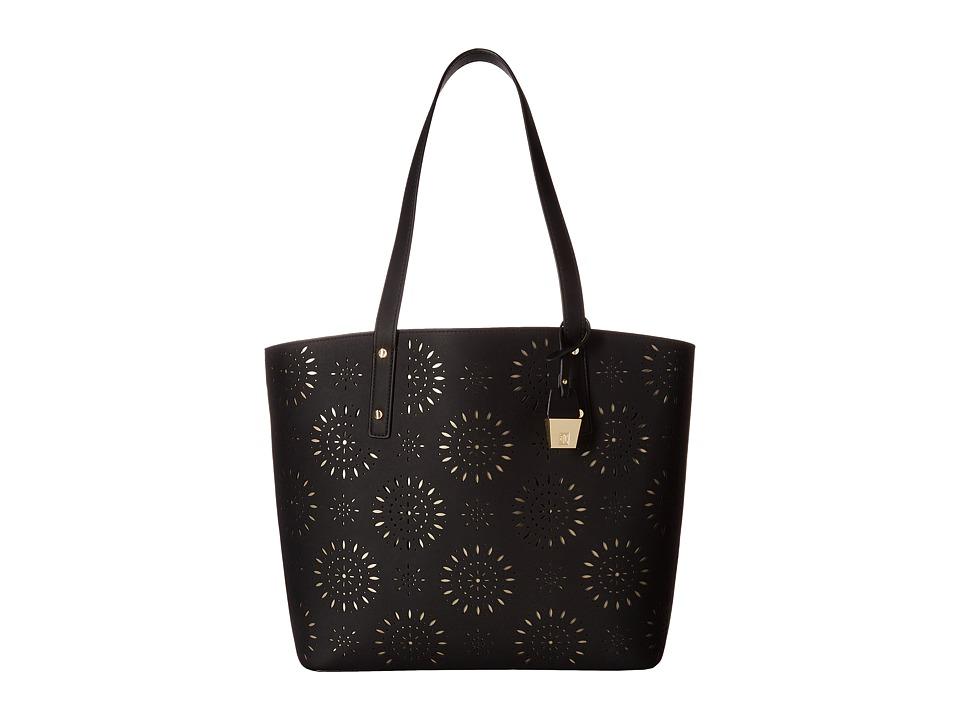 Ivanka Trump - Alexey Tote (Black Lasercut) Tote Handbags